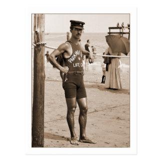 Leibwächter-Brighton-Strand 1905 Postkarte