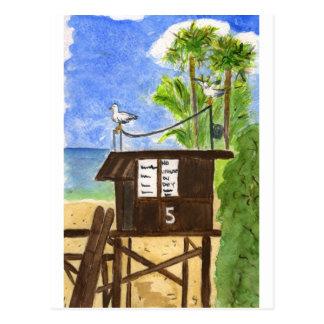 Leibwächter-Station 5 Postkarte