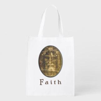 Leichentuch von Turin-Kunst Wiederverwendbare Einkaufstasche