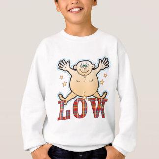 Leicht fetthaltiger Mann Sweatshirt