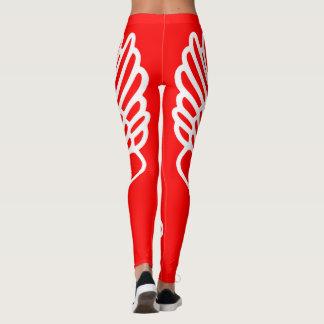 Leichtathletik Hermes Winged Fuß-Läufer-Gamaschen Leggings