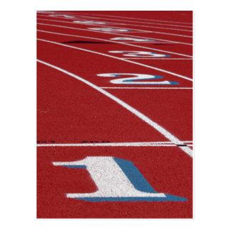 Leichtathletik Postkarte