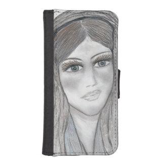 Leichte Mary iPhone SE/5/5s Geldbeutel Hülle
