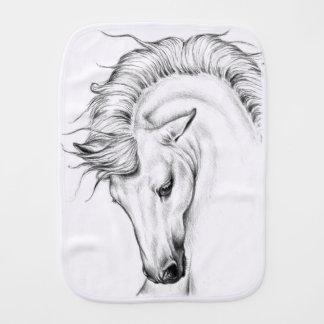 Leichter Stallion Baby Spucktuch