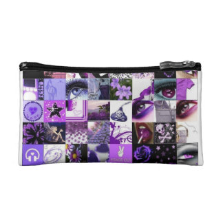 Leidenschaft für lila Collage