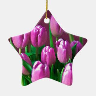 Leidenschaft in Rosa Keramik Ornament