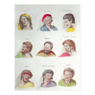 Leidenschaften, Platte V, Kneipe. durch R. Postkarte