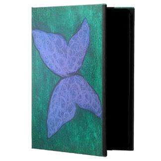 Leidenschaftlicher Schmetterlings-lila blaues Grün