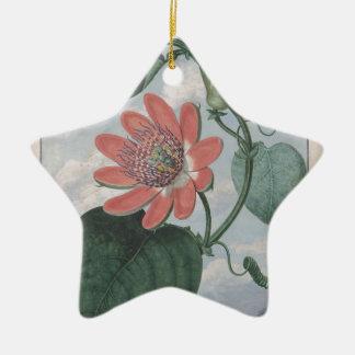 Leidenschafts-Blume Keramik Ornament