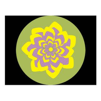 Leidenschafts-Blume Postkarte