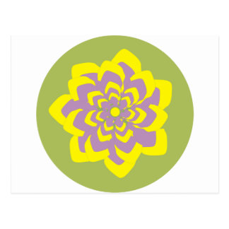 Leidenschafts-Blume Postkarten