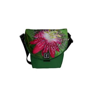 Leidenschafts-Blumen-Minibote-Tasche Kuriertasche