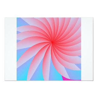 Leidenschafts-Blumen-Rosa-Umschläge Karte