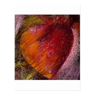 Leidenschafts-Herz Postkarte