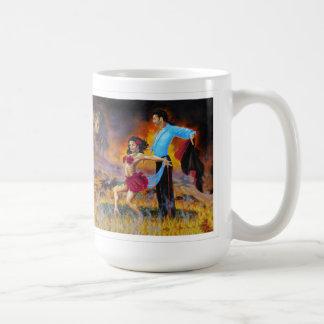 Leidenschafts-Mohnblume Kaffeetasse