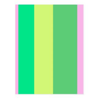 Leinen-Farben Postkarte