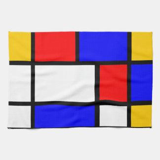 Leinen Haus Stil Mondrian Küchentuch