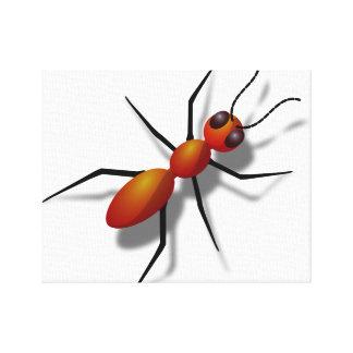 Leinwand: Ameisen-Wand-Kunst Leinwanddruck