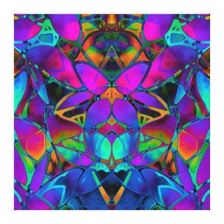 Leinwand-BlumenFraktal-Kunst Leinwanddruck