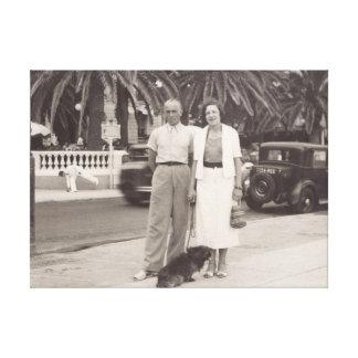 Leinwand Cannes, Frankreich im Jahre 1930 s