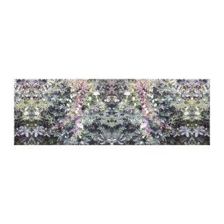 Leinwand des Clematis-Blumen-Spiegel-714