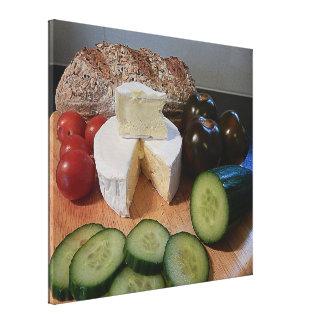 Leinwand-Druck - Mittagessen Leinwanddruck