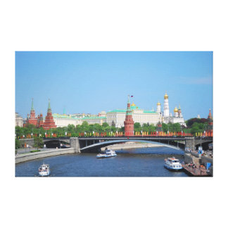Leinwand-Druck Moskaus der Kreml Leinwanddruck
