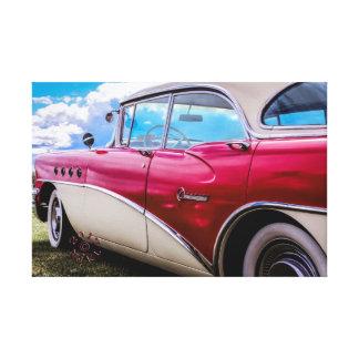 Leinwand eines Buick Jahrhunderts 1955 Riviera