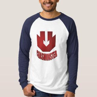 Leinwand-langes Hülsen-Shirt T-Shirt