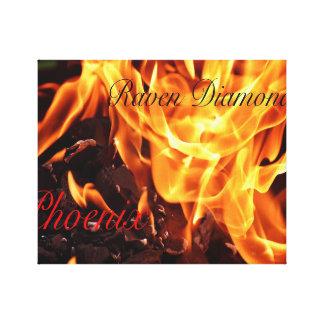 Leinwand-Phoenix-Albumabdeckung Leinwanddruck