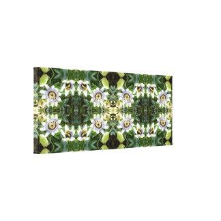 LEINWAND-Platte des Clematis-745 Blumendes Leinwanddruck