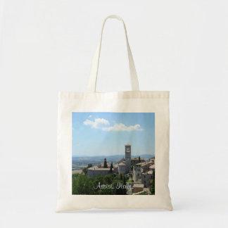 Leinwand-Tasche--Assisi Tragetasche