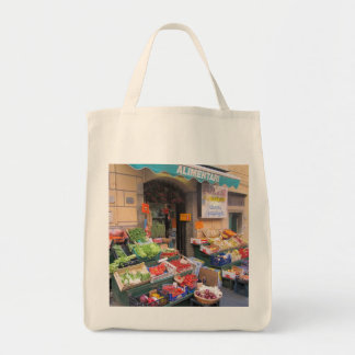 Leinwand-Tasche--Italienischer Markt Einkaufstasche