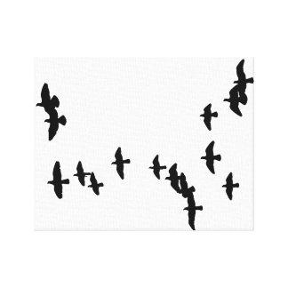 Leinwand: Tauben-Wand-Kunst Leinwanddruck
