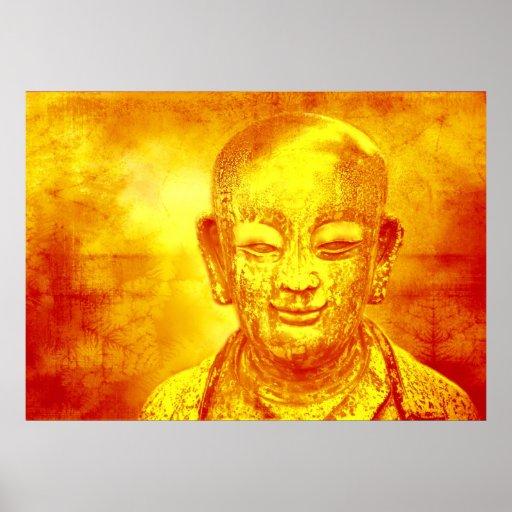 Leinwanddruck Leinwand Leinwand-Druck Buddha Poster