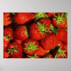 Leinwanddruck Leinwand Leinwand-Druck Erdbeeren Poster
