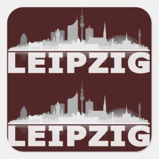 Leipzig City Skyline Aufkleber