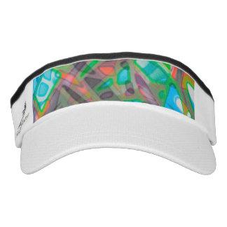 Leistungs-Masken-buntes Buntglas Visor