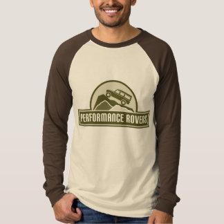 Leistungs-Vagabunden langer Sleave T-Stück T-Shirt