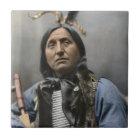 Leiter verlassene Hand Ogala Sioux tragen Vintag Fliese