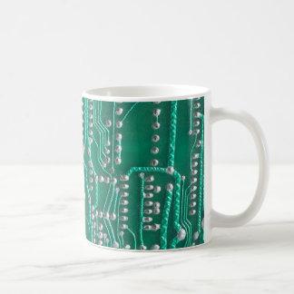 Leiterplatte Kaffee Tasse