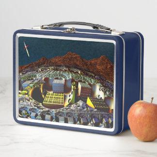 Lem Station Metall Lunch Box