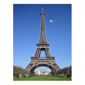 Lemmy Flyby, Eiffelturm Postkarte