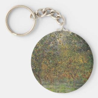 Lemon Grove in Bordighera durch Claude Monet Schlüsselanhänger