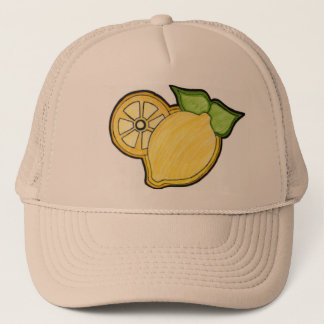 Lemonawsome Skizze-Logo Hut Truckerkappe