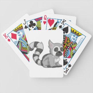 Lemur Bicycle Spielkarten