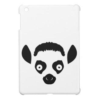 Lemur-Gesichts-Silhouette iPad Mini Hülle