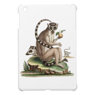 Lemur-Grafik iPad Mini Hülle