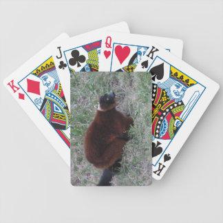 Lemur-Spielkarten Bicycle Spielkarten