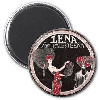 Lena von Palesteena rundem Magneten Runder Magnet 5,1 Cm